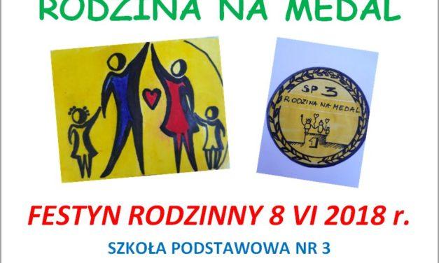 RODZINA NAMEDAL – FESTYN RODZINNY 8 VI 2018 r.
