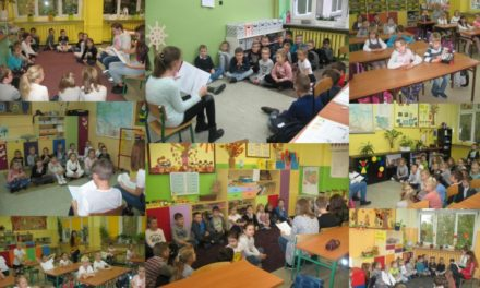 Akcja głośnego czytania pt.Czego Julek chciał nas nauczyć?