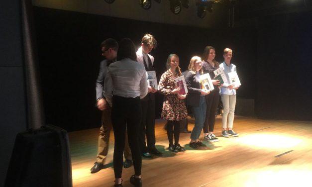 """Poeci z""""Trójki"""" wXXVIII Międzypowiatowym Konińskim Konkursie Poetyckim"""