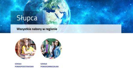 Nabór 2018 doszkół ponadpodstawowych naterenie powiatu słupeckiego