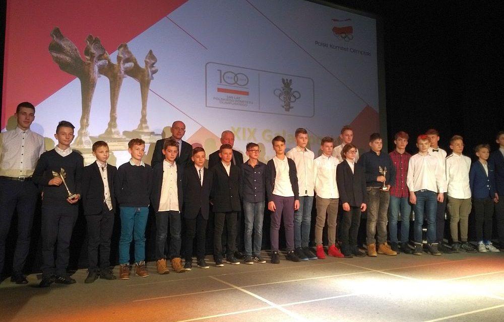 Sportowcy Trójki wyróżnieni podczas XIX Gali Sportu Powiatu Słupeckiego.