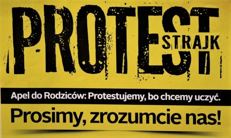 Kontynuacja strajku nauczycieli