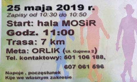 25 maja (sobota) zapraszamy wiosenny marsz Nordic Walking