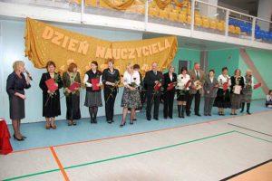 Nauczyciele nagrodzeni przezDyrektora