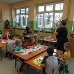 Świąteczna lekcja otwarta wklasie 1c