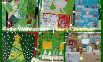 Merry Christmas! Frohe Weihnachten! Wesołych Świąt!