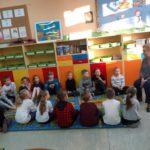 Spotkanie zpediatrą wklasie 1a