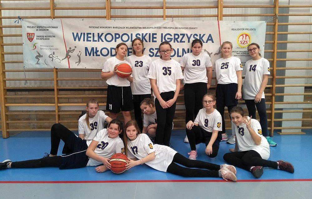 Mistrzostwa Powiatu wkoszykówce dziewcząt Igrzyska Dzieci