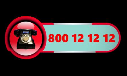Całodobowy Dziecięcy Telefon Zaufania 800 12 12 12