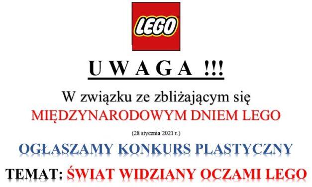Ogłaszamy konkurs plastyczny- Świat Widziany Oczami Lego