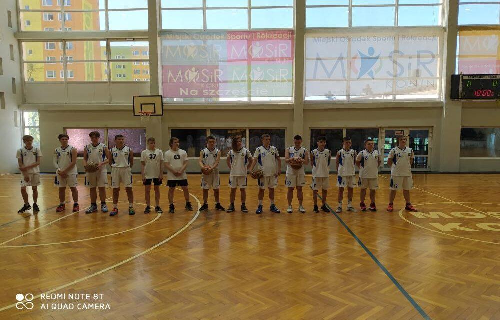 Finał rejonu wkoszykówce wIgrzyskach Młodzieży Szkolnej